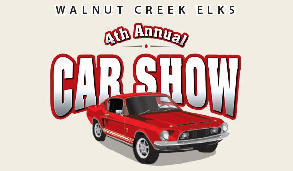 Walnut Creek Elks Lodge Car Show