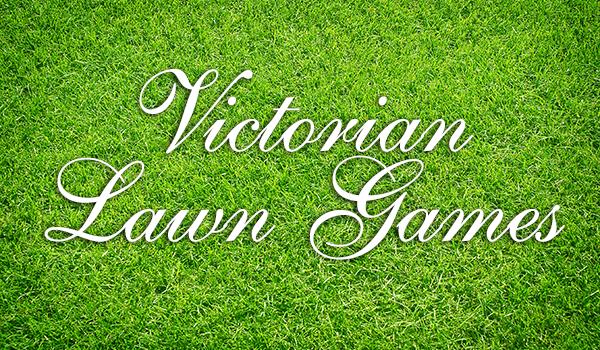 Victorian lawn games