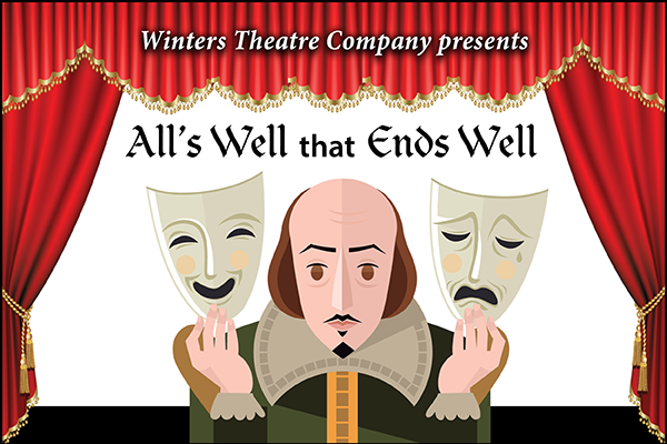 shakespeare arrives winters theatre