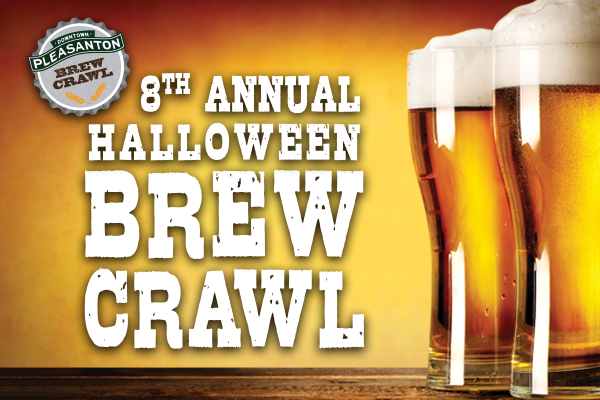 downtown pleasanton halloween brew crawl your town monthly