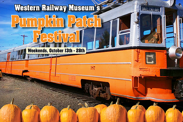 western railway museums pumpkin patch 2018