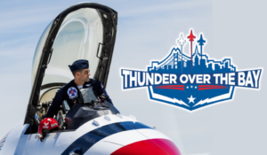 thunder over bay
