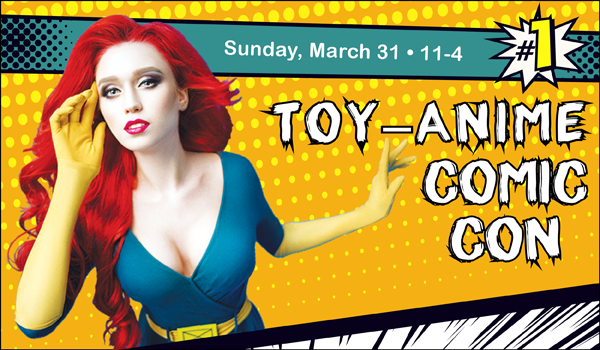 toy anime comic con