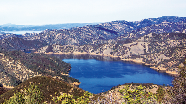 lake berryessa, napa county