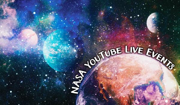 nasa youtube events