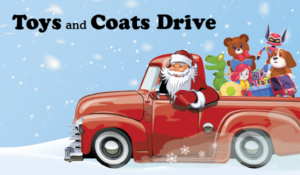 fairfield toy coat drive