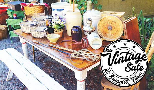 vintage sale summit farm