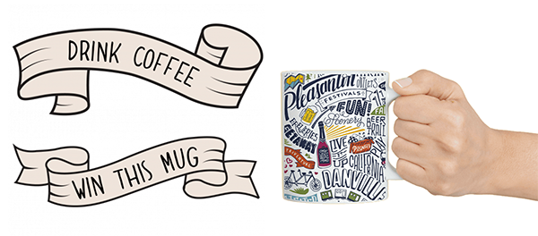 drink coffee win mug